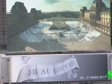 Ilusión óptica del Louvre