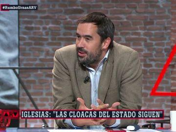 Carlos Cué responde a las críticas de Pablo Iglesias a los medios