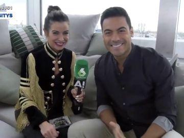 Bea Jarrín y Carlos Rivera