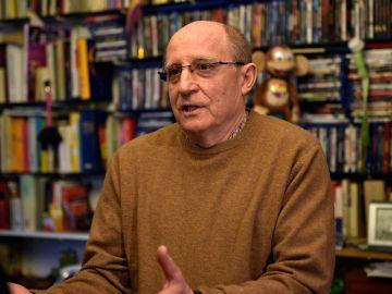 El marido María José Carrasco, Ángel Hernández.