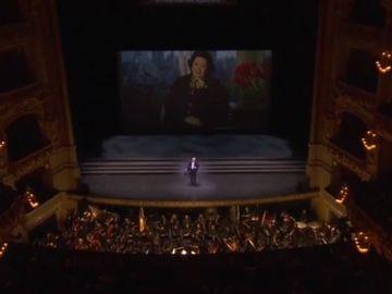 Homenaje a Montserrat Caballé en el Liceo de Barcelona