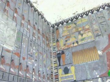 Hallan una tumba con más de 4.000 años de antigüedad en Egipto