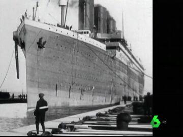 Imagen de archivo del Titanic