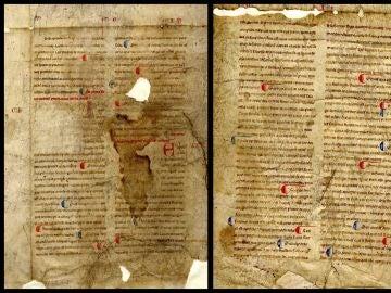 Descubren un manuscrito del siglo XIII sobre la vida de los santos Tomás, Marcos y Andrés en Ourense