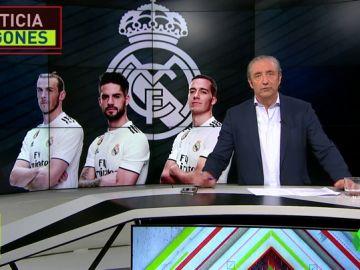 Bale, Isco y Lucas Vázquez, con pie y medio fuera del Madrid