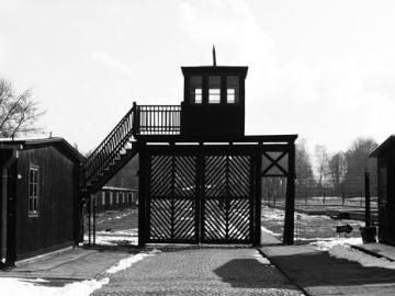 Imagen del campo de concentración de Stutthof, en Polonia.