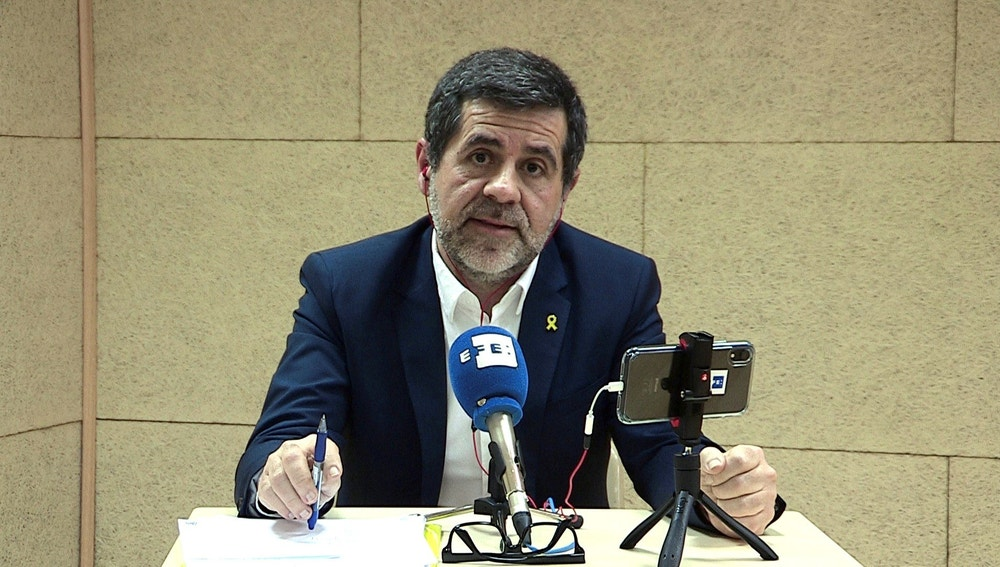 El cabeza de lista de JxCat al Congreso por Barcelona, Jordi Sànchez