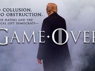 Montaje publicado por Donald Trump en su cuenta de Twitter.