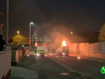 Muere una periodista tras recibir varios disparos durante los disturbios en Irlanda del Norte