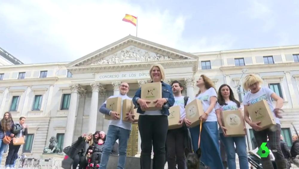 Pacma consigue 20.000 avales para participar en los comicios europeos