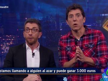 Pablo Motos y Manel Fuentes