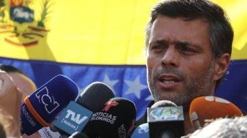 El líder opositor Leopoldo López