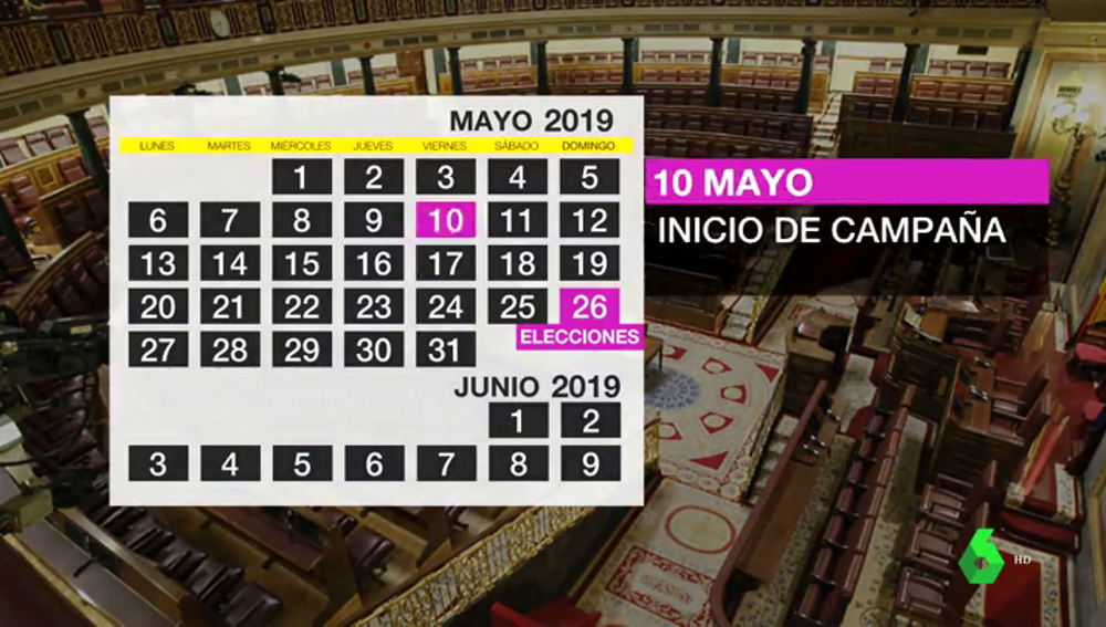 Estas son las estrategias electorales de PSOE, PP, Ciudadanos, Unidas Podemos y Vox de cara al 26M
