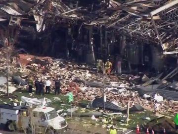 Dos personas han muerto por una explosión en una fábrica de silicona en Illinois