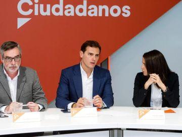 Villegas, Rivera y Arrimadas