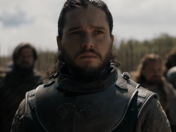Kit Harrington interpretando a Jon Snow en 'Juego de Tronos'