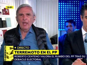 """El enfado de Roberto Centeno (Vox) al hablar de Mariano Rajoy: """"Esto es una canallada"""""""