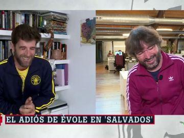 Gonzo y Évole en ARV