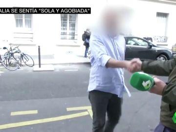 laSexta accede al edificio de Natalia, la joven española desaparecida en París sin dejar rastro