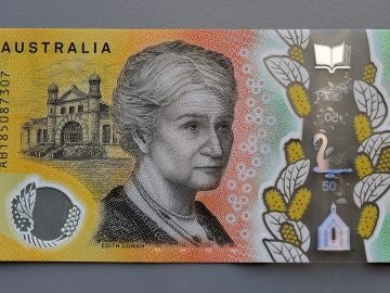 Billete de 50 dólares australianos