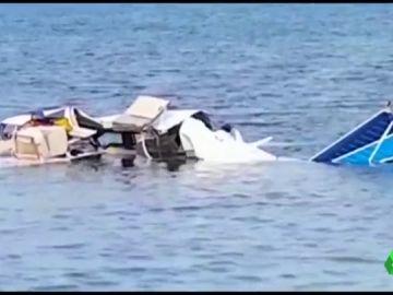 Avioneta estrellada en Honduras