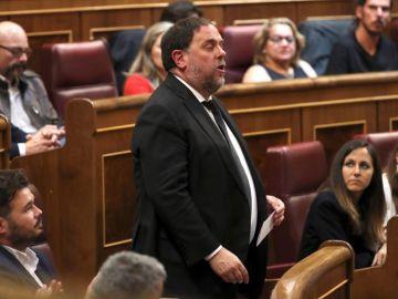 El diputado preso de ERC Oriol Junqueras