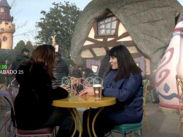 Irene Villa viaja a Disneyland París con Viajeras con B