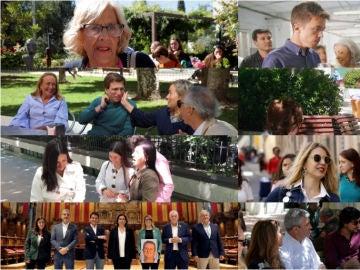 Día de reflexión de los candidatos