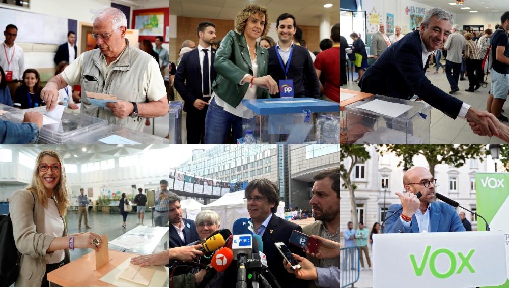 Candidatos a las elecciones europeas