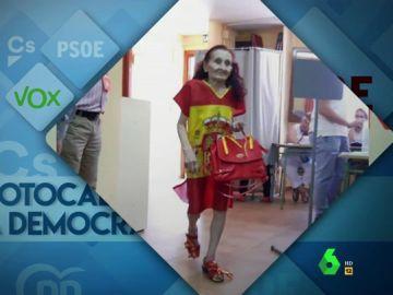 De banderas de España y esteladas a trajes de monjes: Dani Mateo analiza los looks vistos en el 'photocall de la democracia'