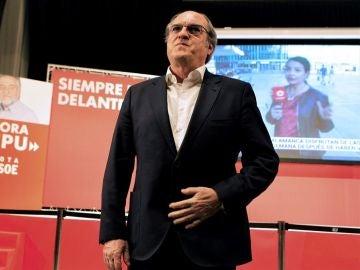 Ángel Gabilondo en la sede del PSOE