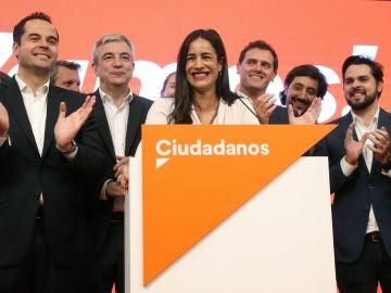 La candidata de Ciudadanos a la Alcaldía de Madrid, Begoña Villacís