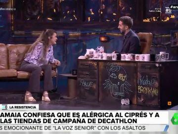 Amaia Romero y David Broncano