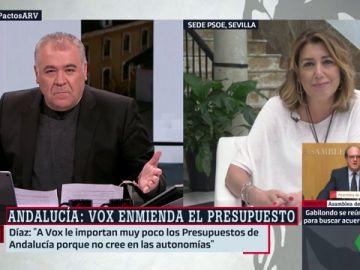 Susana Díaz, la secretaria general del PSOE en Andalucía