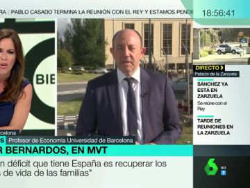 """Gonzalo Bernardos, sobre la declaración de bienes de los diputados: """"No me creo que la mayoría gane el sueldo medio español"""""""