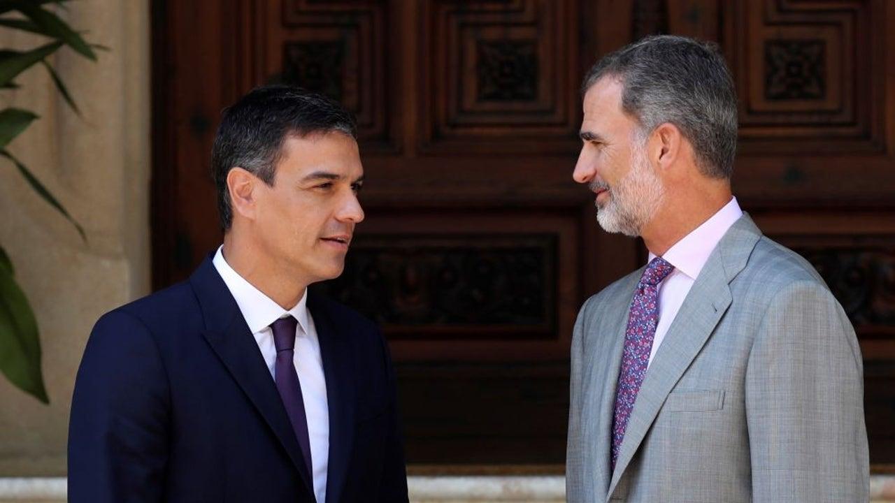 El rey Felipe VI y Pedro Sánchez (Archivo)