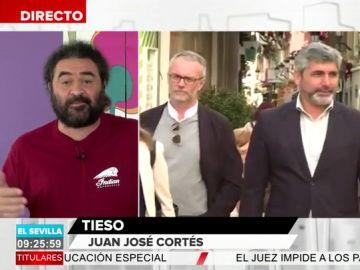 """El Sevilla analiza la declaración de bienes de Juan José Cortés: """"Ahora entiendo porque se ha metido en política"""""""