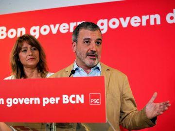 El candidato del PSC a la Alcaldía de Barcelona, Jaume Collboni
