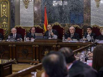 Imagen de archivo de la última semana del juicio del procés