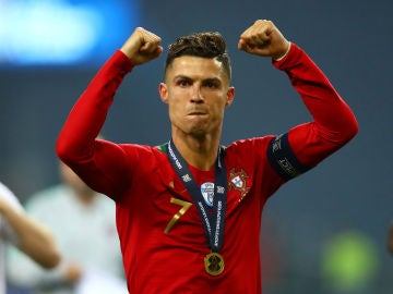 Cristiano Ronaldo, tras ganar la Nations League