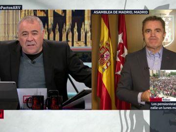 El secretario general del PSOE Madrid, José Manuel Franco