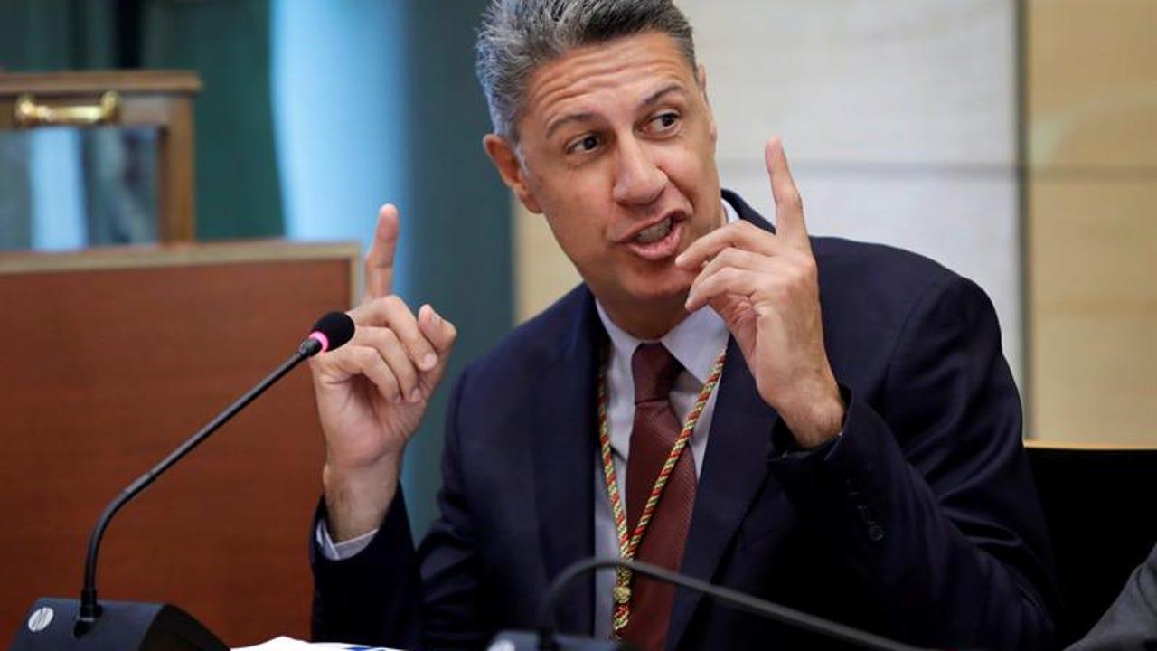 Xavier García Albiol, durante la constitución del Ayuntamiento de Badalona