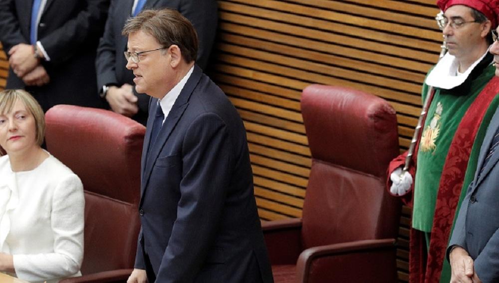 El socialista Ximo Puig promete el cargo de president de la Generalitat