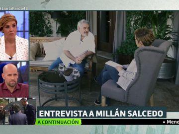 """La confesión de Millán Salcedo sobre su mala relación con Chicho Ibáñez: """"Él pretendía que dijeras lo que había escrito con puntos y comas"""""""
