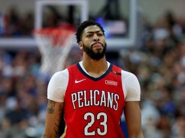 Anthony Davis, con los Pelicans