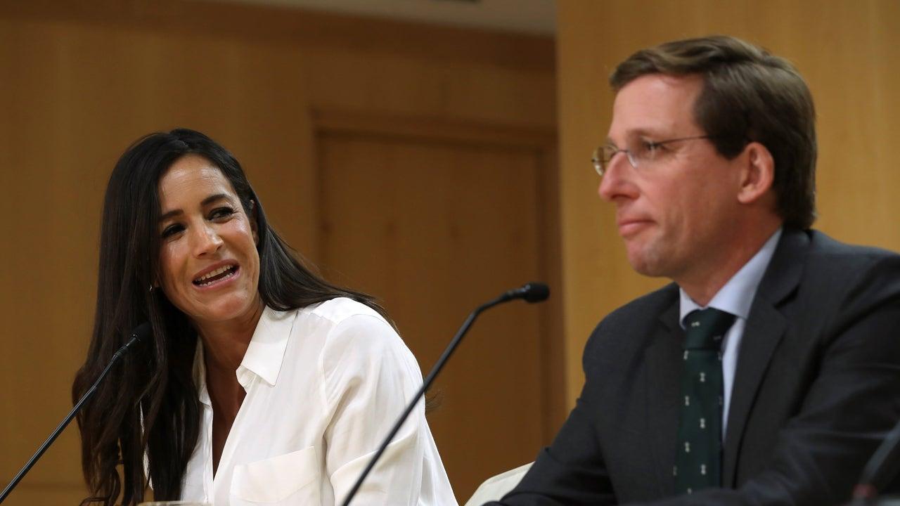 Begoña Villacís, junto a José Luis Martínez-Almeida