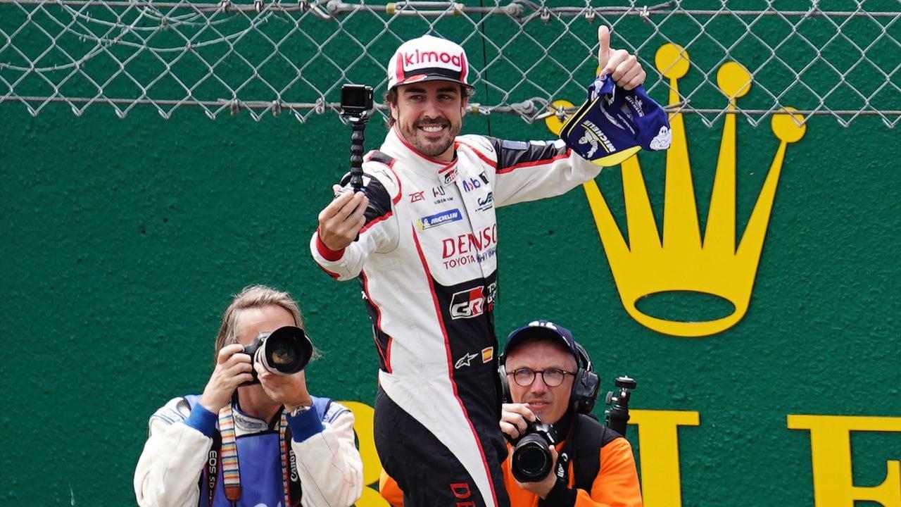 Fernando Alonso gana las 24 horas de Le Mans 2019