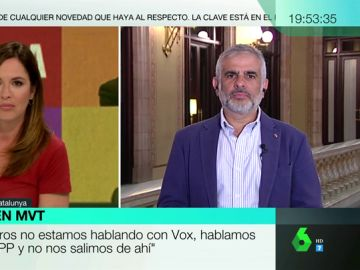 """Carlos Carrizosa (Cs): """"Todas las concejalías de Gobierno están repartidas en Madrid. No hay hueco para terceros"""""""
