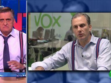 La coincidencia entre Ortega Smith y Wyoming que deja alucinando al presentador