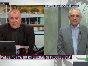 El secretario general del PSOE en el Congreso, Rafael Simancas